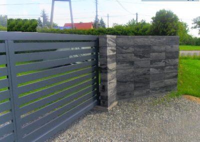 Brama panelowa onix